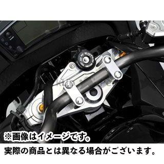 AGRAS ニンジャ400R トップブリッジ関連パーツ トップブリッジ ハンドルアッパーブラケット付き アグラス
