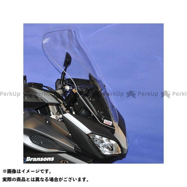 【エントリーで更にP5倍】Skidmarx トレーサー900・MT-09トレーサー スクリーン関連パーツ ウィンドスクリーン ツーリングタイプ カラー:ライトスモーク スキッドマークス