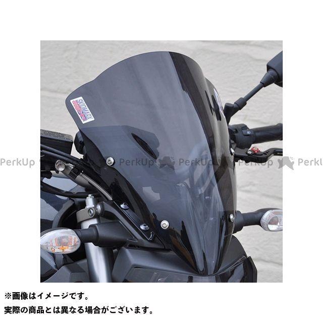 【エントリーで更にP5倍】Skidmarx MT-09 スクリーン関連パーツ ウィンドスクリーン ダブルバブルタイプ カラー:クリア スキッドマークス