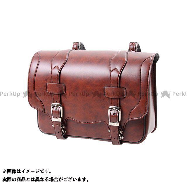 デグナー ツーリング用バッグ DSB-1 シンセティックレザーサドルバッグ カラー:ブラウン DEGNER