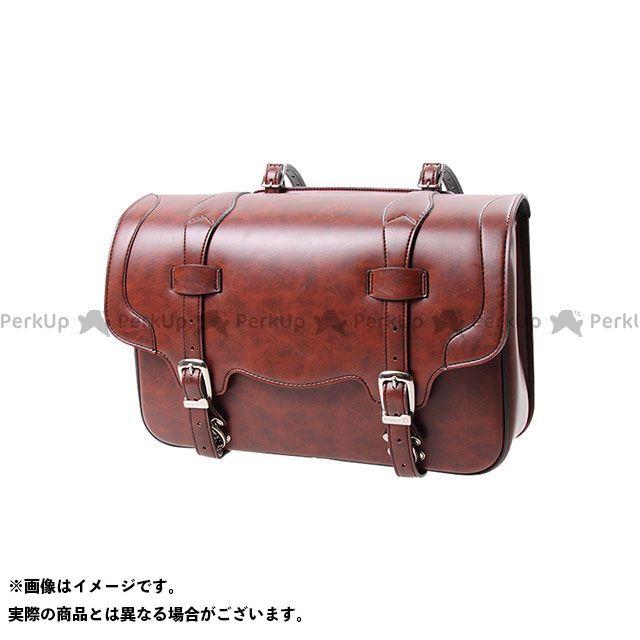 【エントリーで更にP5倍】デグナー ツーリング用バッグ DSB-2 シンセティックレザーサドルバッグ カラー:ブラウン DEGNER