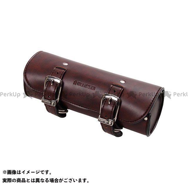 デグナー DEGNER ツーリング用バッグ ツーリング用品 シンセティックレザーツールバッグ DTB-1 人気海外一番 無料雑誌付き カラー:ブラウン 限定モデル