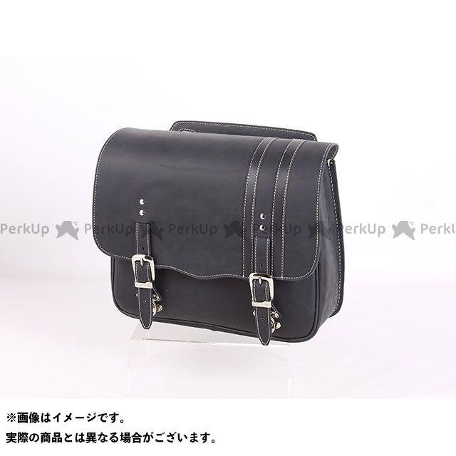 デグナー ツーリング用バッグ SB-59IN ヴィンテージスタイル レザーサドルバッグ カラー:ブラック DEGNER