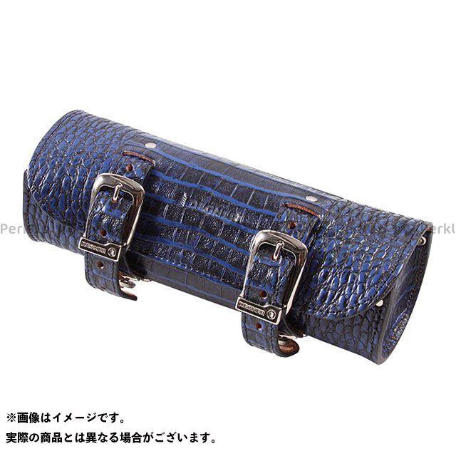 デグナー ツーリング用バッグ TB-4CR クロコダイル柄レザーツールバッグ カラー:ブルー DEGNER