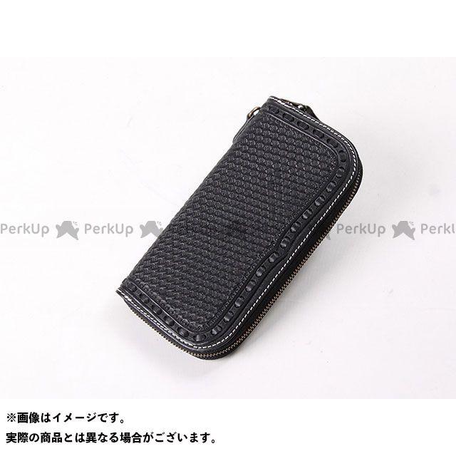 デグナー 財布 W-87 カービングジップウォレット カラー:ブラック DEGNER