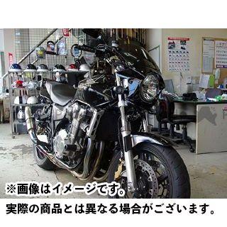 WW CB1100 CB1300スーパーボルドール CB1300スーパーフォア(CB1300SF) カウル・エアロ 汎用ビキニカウル DS-01 typeR(ダークネスブラックメタリック) ワールドウォーク