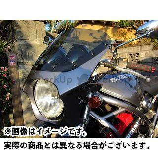 WW バンディット250 GSX400インパルス GSX400E カウル・エアロ 汎用ビキニカウル DS-01 typeR(アーバンミディアムグレーメタリック) ワールドウォーク