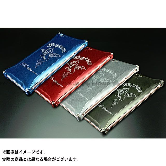 R's GEAR 小物・ケース類 iPhone 6 Plus/6s Plus用 ワイバンスマートフォンケース カラー:シルバー アールズギア