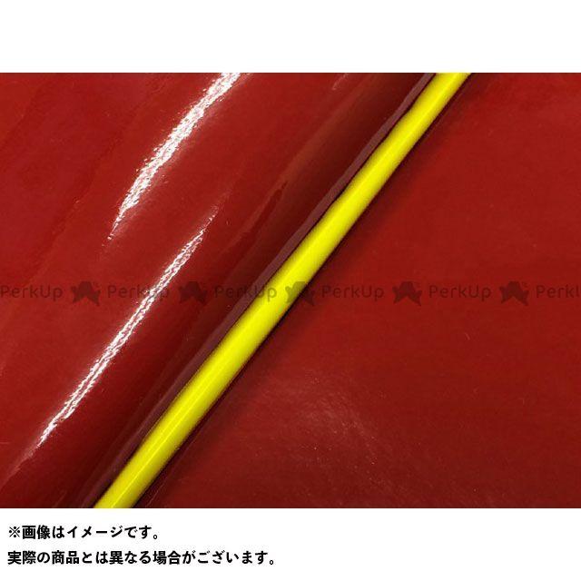 Grondement シグナスX シート関連パーツ シグナスX SE44J(1YP/1MS)後期 国産シートカバー エナメルレッド タイプ:被せ 仕様:黄パイピング グロンドマン