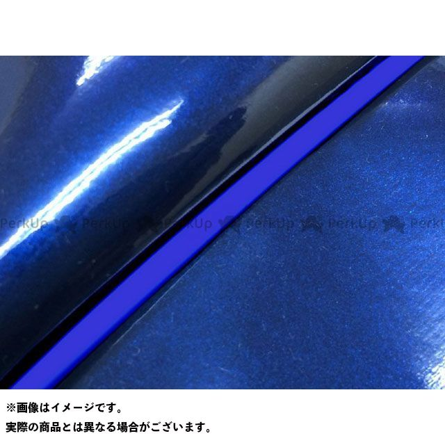 Grondement シグナスX シート関連パーツ シグナスX SE44J(28S)前期 国産シートカバー エナメルブルー タイプ:被せ 仕様:青パイピング グロンドマン