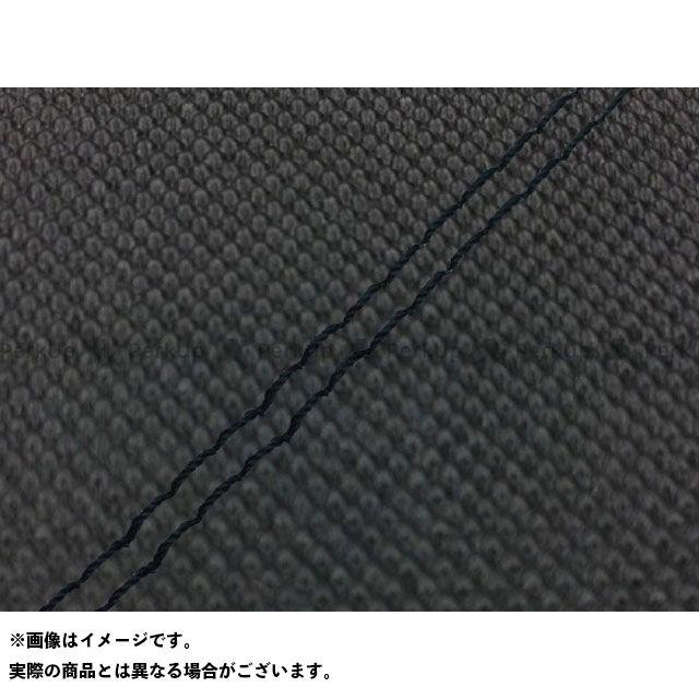 Grondement シグナスX シート関連パーツ シグナスX SE44J(28S)前期 国産シートカバー スベラーヌブラック タイプ:張替 仕様:黒ダブルステッチ グロンドマン