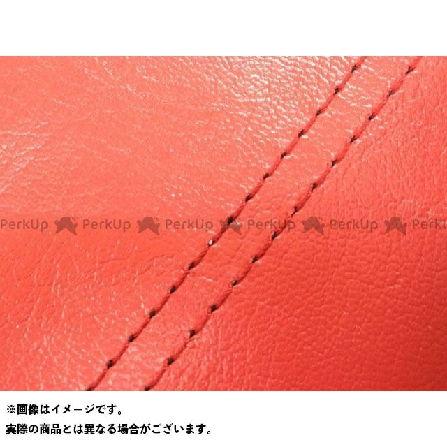 Grondement シグナスX シート関連パーツ シグナスX(SE12J) 国産シートカバー 赤 タイプ:張替 仕様:赤ダブルステッチ グロンドマン