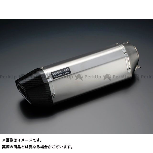 BEAMS Z125プロ マフラー本体 CORSA-EVO II マフラー JMCA サイレンサー:ステンレス ビームス