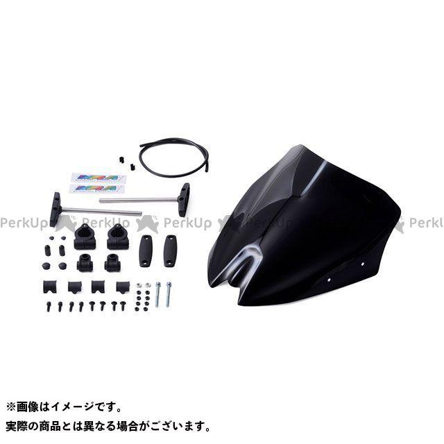 【エントリーでポイント10倍】送料無料 MRA MT-03 MT-25 スクリーン関連パーツ スクリーン スポイラー ブラック