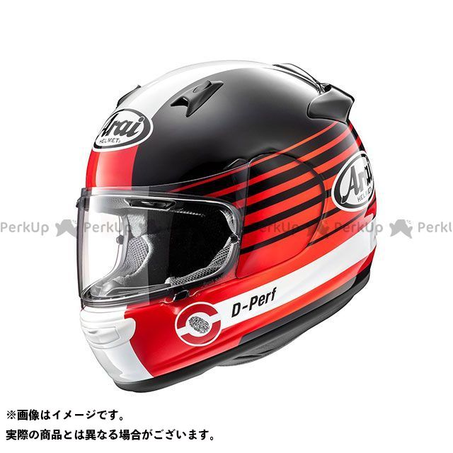 送料無料 アライ ヘルメット Arai フルフェイスヘルメット QUANTUM-J PAGE(クアンタム-J・ページ) レッド 57-58cm