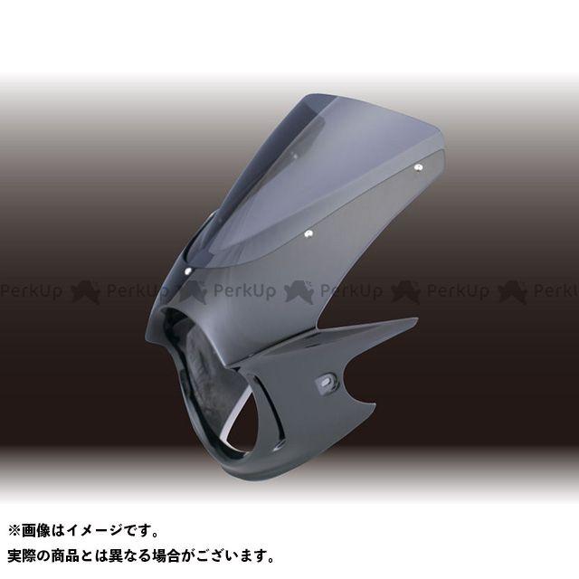 FORCE DESIGN ホーネット カウル・エアロ HORNET250 ビキニカウル カウルカラー:ブラック スクリーンカラー:スモーク スクリーンタイプ:スプリントスクリーン フォルスデザイン