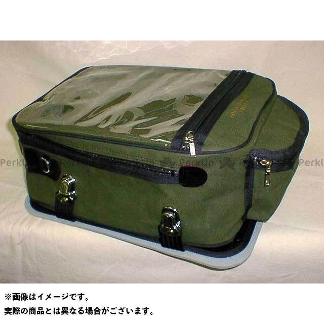 JAPAN DRAG ジャパンドラッグ ツーリング用バッグ コロナツーリングバッグ カーキグリーン L