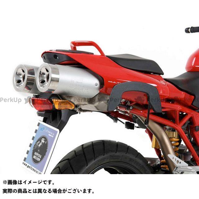 HEPCO&BECKER ムルティストラーダ1000 ムルティストラーダ1100 ムルティストラーダ620 キャリア・サポート サイドソフトケースホルダー(キャリア)「C-Bow」(ブラック) ヘプコアンドベッカー