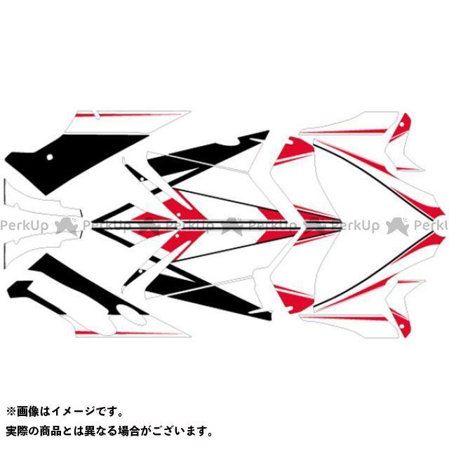 エムディーエフ 749S 999S ドレスアップ・カバー 749S/999S グラフィックキット ベースモデル レッドタイプ タイプ:コンプリートセット MDF