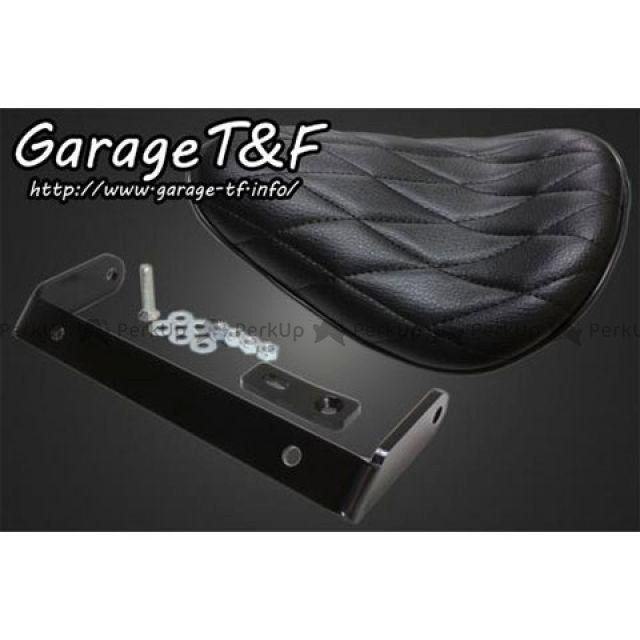 ガレージTF TF 期間限定特価品 シート関連パーツ 25%OFF 外装 無料雑誌付き ダイヤ ソロシート ブラック リジットマウントキット マグナ50