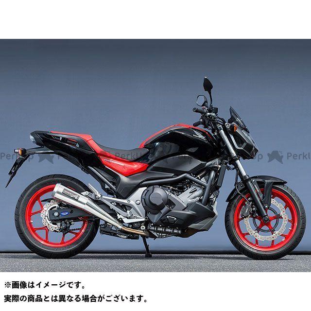 YAMAMOTO RACING NC750S NC750X マフラー本体 16~NC750S/X SLIP-ON メガホン ヤマモトレーシング