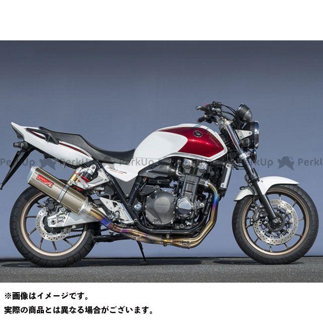 【エントリーで更にP5倍】YAMAMOTO RACING CB1300スーパーフォア(CB1300SF) マフラー本体 14~CB1300SF TI4-2-1 DOWN TYPE-SA ゴールド ヤマモトレーシング