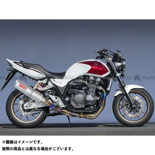 【エントリーで最大P21倍】YAMAMOTO RACING CB1300スーパーフォア(CB1300SF) マフラー本体 14~CB1300SF TI4-2-1 DOWN TYPE-SA ヤマモトレーシング