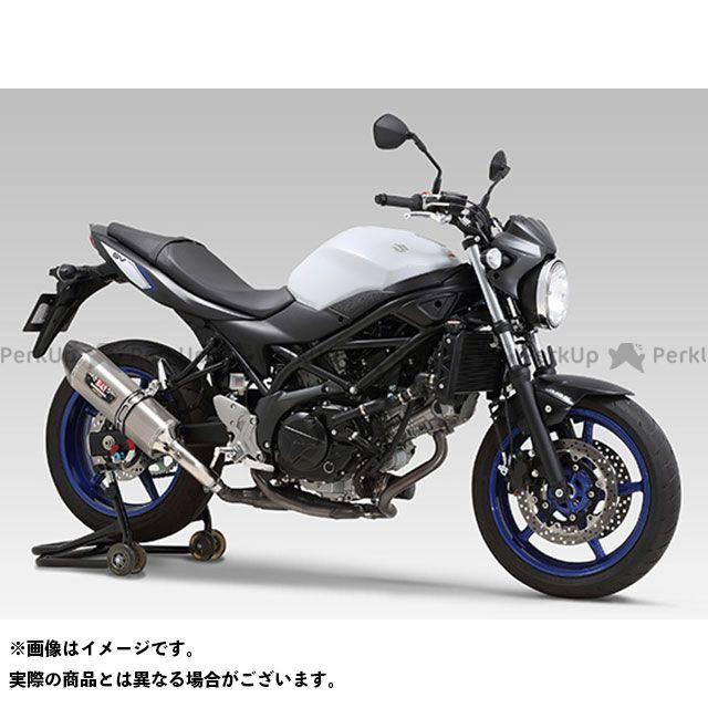YOSHIMURA SV650 マフラー本体 Slip-On R-77J サイクロン EXPORT SPEC 政府認証 サイレンサー:SMS(メタルマジックカバー/ステンレスエンドタイプ) ヨシムラ