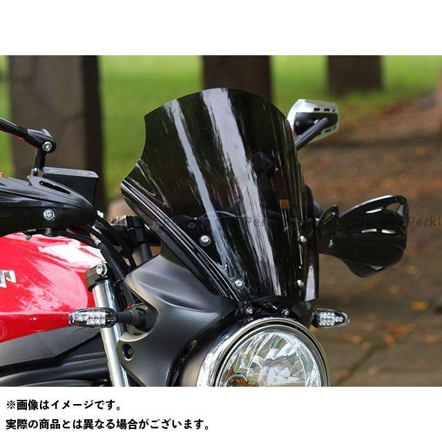 【エントリーでポイント10倍】送料無料 キジマ SV650 スクリーン関連パーツ フロントスクリ-ン メーターバイザー(スモーク)