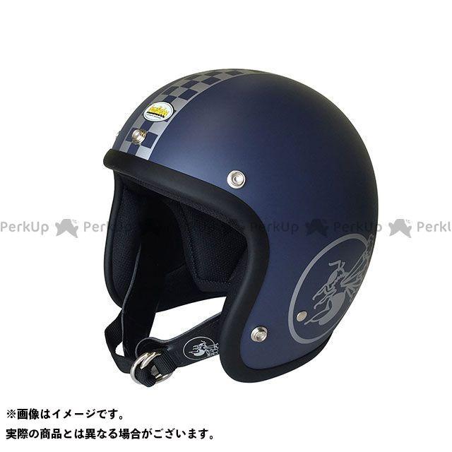 送料無料 Bumblebee バンブルビー ジェットヘルメット BBHM-03N ヘルメット チェッカー クラシックブルー SM/56-58cm