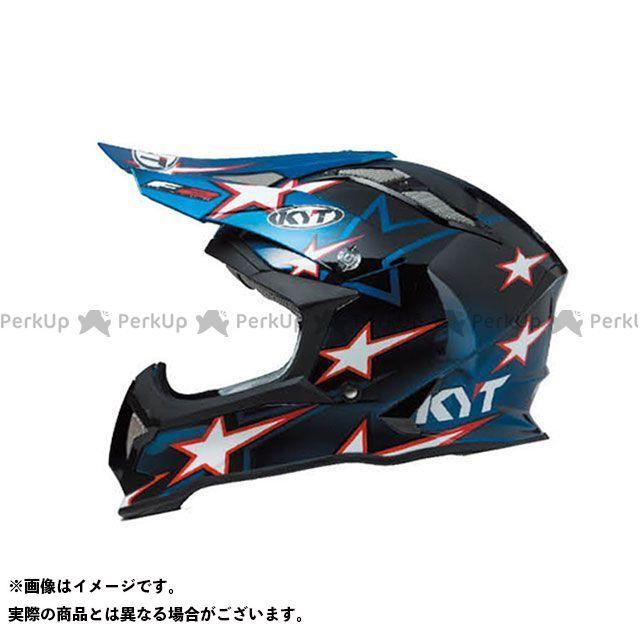 送料無料 KYT ケーワイティー オフロードヘルメット STRIKE EAGLE ロマン・フェーブル スターブルー レプリカ XL/61-62cm