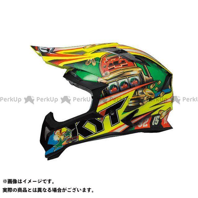 送料無料 KYT ケーワイティー オフロードヘルメット STRIKE EAGLE ルーレット XL/61-62cm