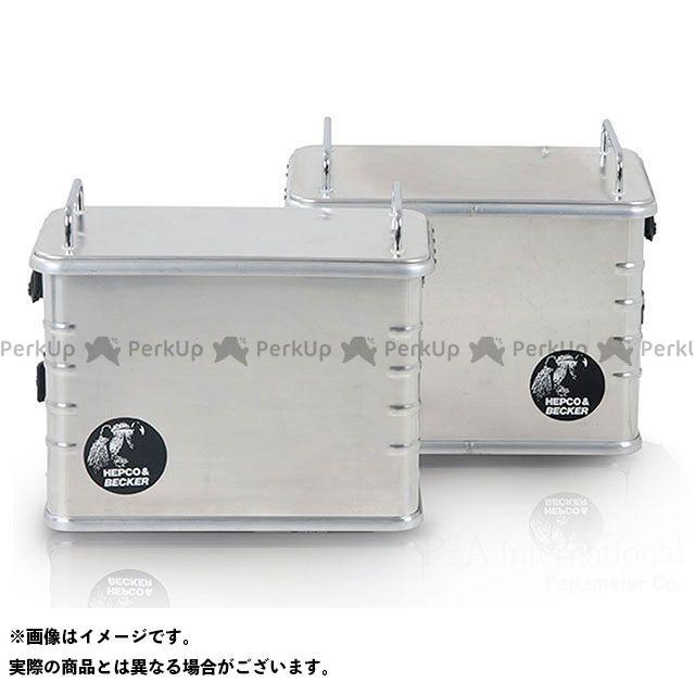 【エントリーで更にP5倍】HEPCO&BECKER ツーリング用バッグ サイドケース アルミスタンダード AluStandard 40 タイプ:左側 ヘプコアンドベッカー