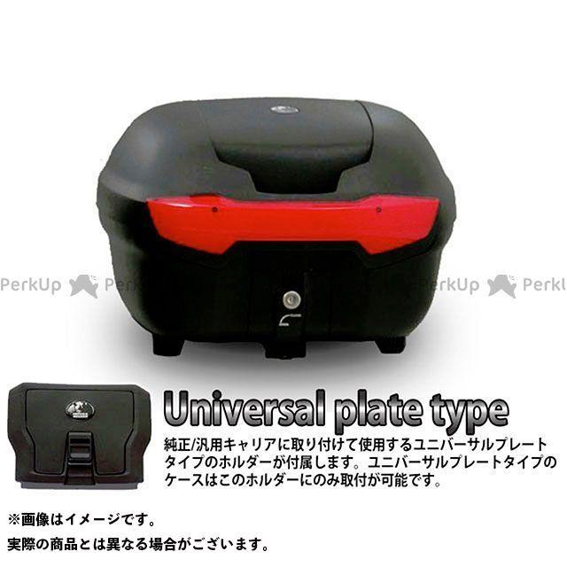 【エントリーで更にP5倍】HEPCO&BECKER ツーリング用ボックス トップケース ジャーニー Journey TC40 ユニバーサルプレートタイプ カラー:ブラック ヘプコアンドベッカー