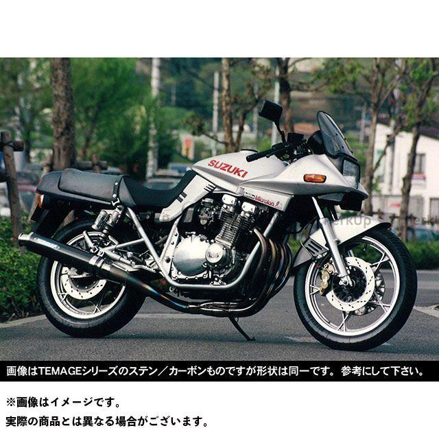 【エントリーで更にP5倍】STRIKER GSF750 GSX1000Sカタナ マフラー本体 SUPER STRIKER TITAN チタンフルエキゾースト サイレンサー:チタンミラーフィニッシュ ストライカー