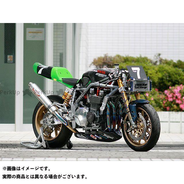 【エントリーで更にP5倍】STRIKER ゼファー1100 マフラー本体 SUPER STRIKER TITAN チタンフルエキゾースト サイレンサー:チタン ストライカー