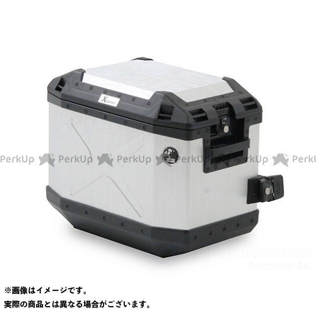 HEPCO&BECKER Vストローム650 ツーリング用バッグ サイドケースホルダー+Xplorer(Cutout)セット カラー:シルバー ヘプコアンドベッカー