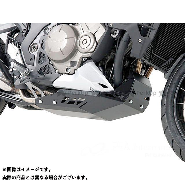 送料無料 HEPCO&BECKER VFR1200X・クロスツアラー エンジンガード エンジンアンダーガード(ブラック)