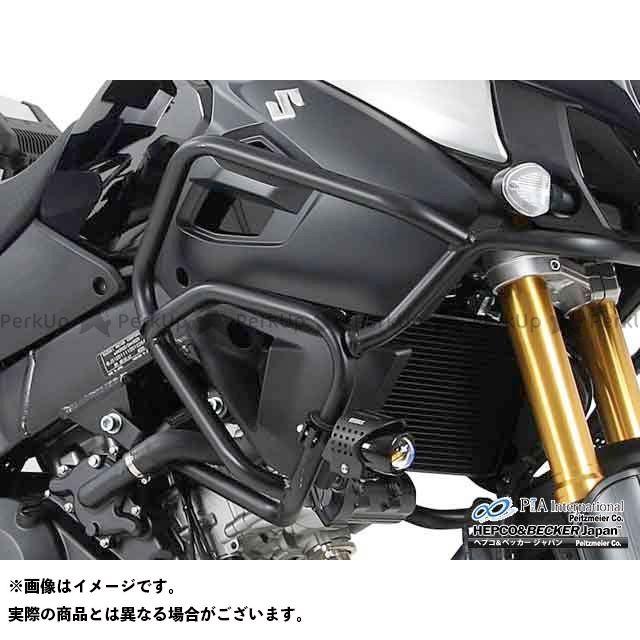 HEPCO&BECKER Vストローム1000 タンク関連パーツ タンクガード カラー:ブラック ヘプコアンドベッカー