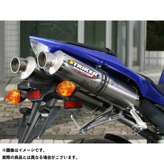 【エントリーで更にP5倍】STRIKER YZF-R1 マフラー本体 RC SLIP-ON サイレンサー:チタンミラーフィニッシュ ストライカー