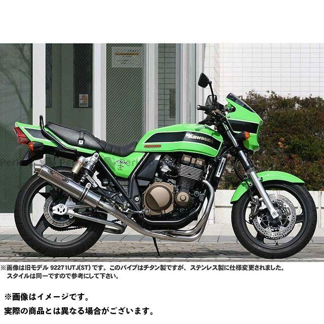 STRIKER ZRX400 ZRX400- マフラー本体 STREET CONCEPT ステンレスフルエキゾースト サイレンサー:カーボン ストライカー