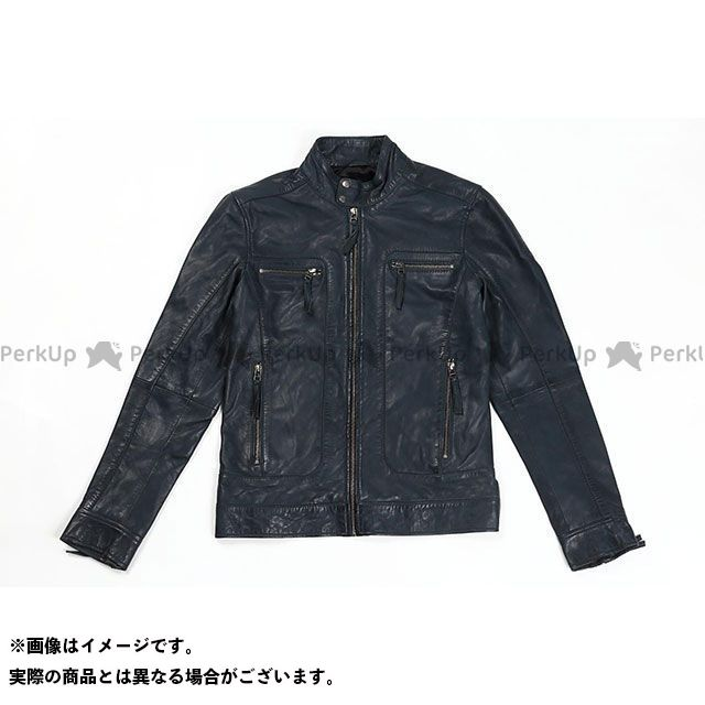 RIDEZ ジャケット CLUBS JACKET カラー:アイアンブルー サイズ:S ライズ