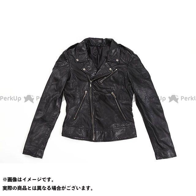 RIDEZ ジャケット Queen JACKET カラー:ランプブラック サイズ:L ライズ