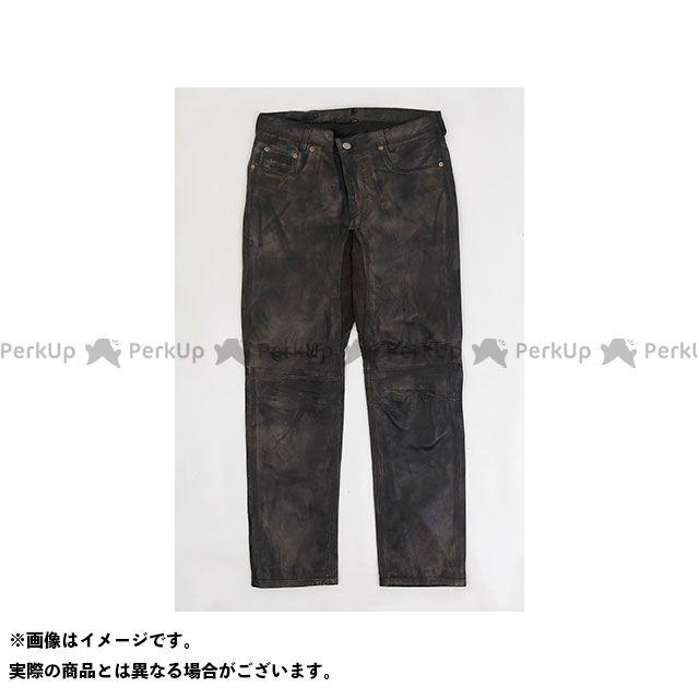 ライズ RIDEZ パンツ バイクウェア RIDEZ パンツ JOKER LEATHER PANTS ブラック/ブラウン W32L30 ライズ