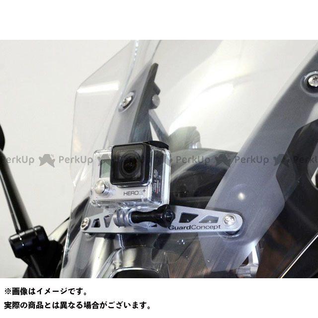 ワンダーリッヒ R1200RS 電子機器類 アクションカメラホルダー(シルバー)