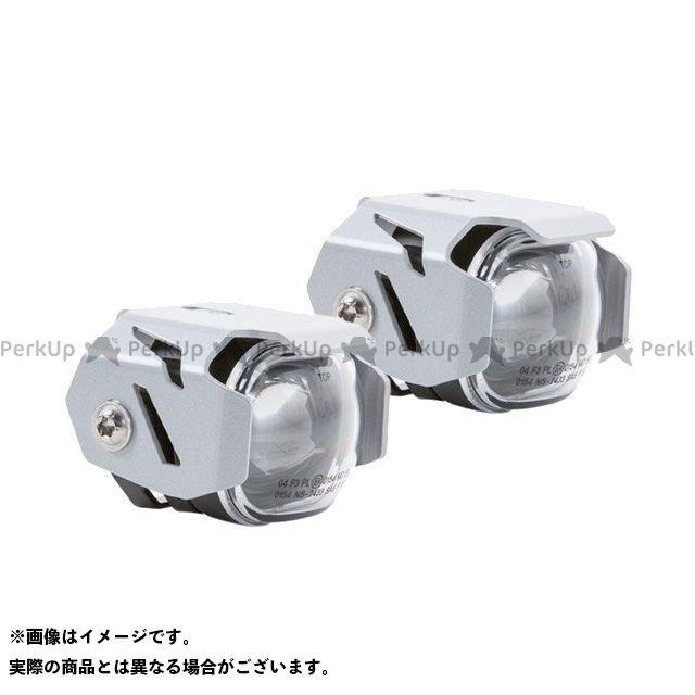 【エントリーで最大P21倍】Wunderlich 汎用 ホーン・電飾・オーディオ Micro Flooter クラッシュバー 汎用 LEDライトセット カラー:シルバー ワンダーリッヒ
