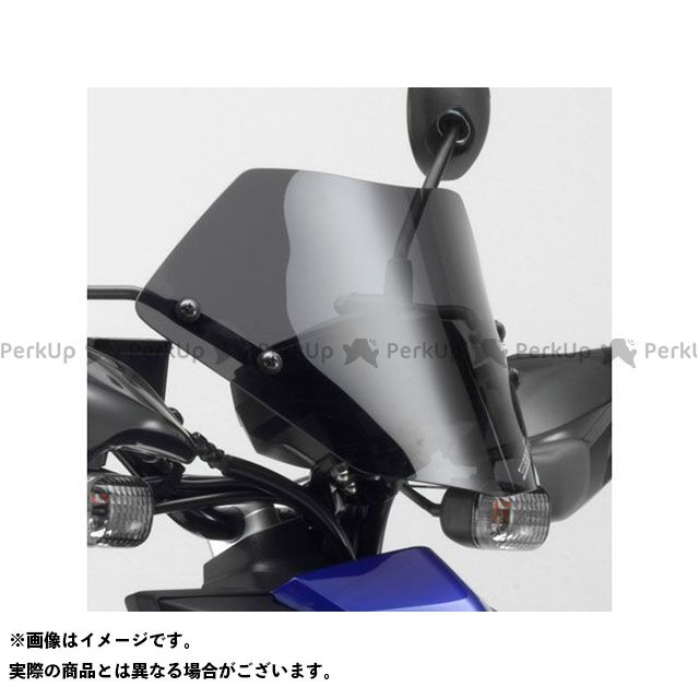 送料無料 Y'S GEAR ビーウィズ125 スクリーン関連パーツ メーターバイザー(スモーク)