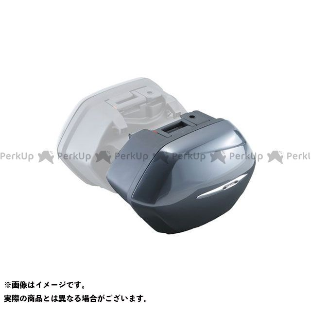 Y'S GEAR FJR1300AS/A ツーリング用ボックス サイドケース カラー:ダークグレー タイプ:右 ワイズギア