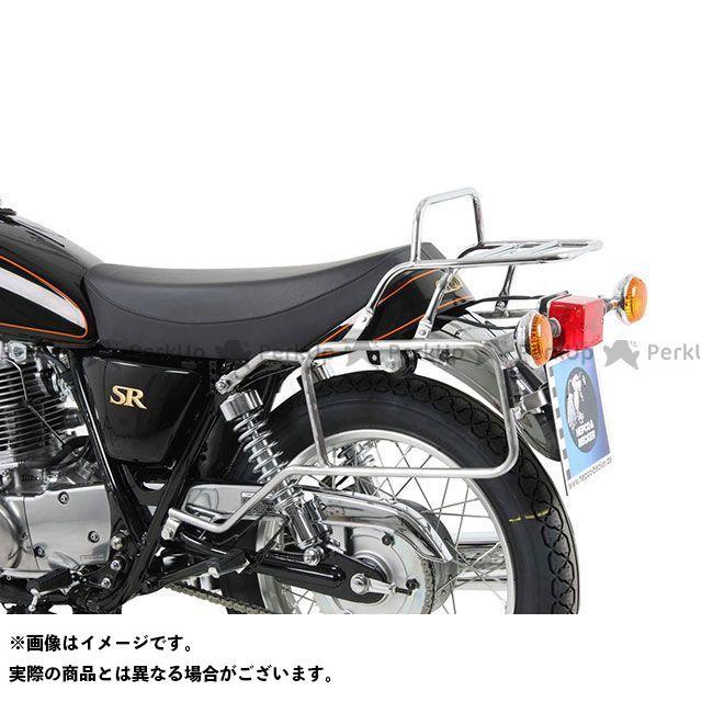 HEPCO&BECKER SR400 キャリア・サポート Yamaha SR400 トップ&サイドケースホルダー(クローム) ヘプコアンドベッカー
