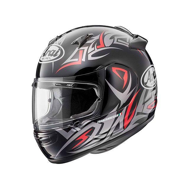 送料無料 アライ ヘルメット Arai フルフェイスヘルメット QUANTUM-J GROOVE(クアンタム-J・グルーブ) レッド 54cm